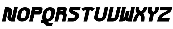 Futurex Phat Italic Font UPPERCASE