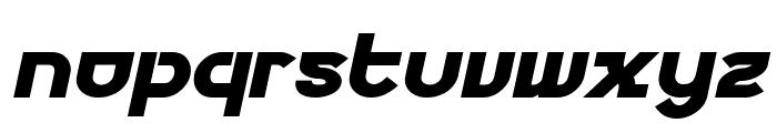 Futurex Phat Italic Font LOWERCASE