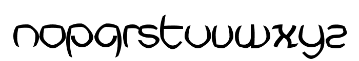 Futurex Punched Font LOWERCASE