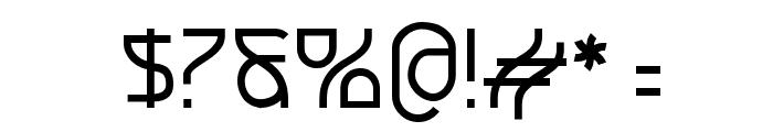 Futurex SCOSF Font OTHER CHARS