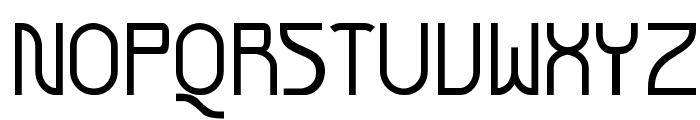 Futurex SCOSF Font UPPERCASE