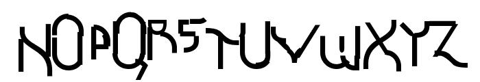 Futurex Schizmatic Font UPPERCASE