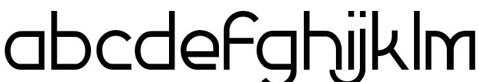 Futurex Simplex Font LOWERCASE
