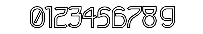 Futurex Variation Alpha Hollow Font OTHER CHARS