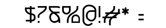 Futurex Font OTHER CHARS