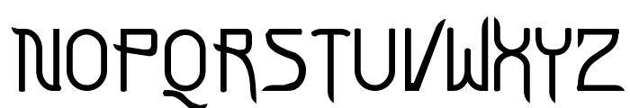 FuturexVariationSwish Font UPPERCASE