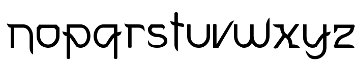 FuturexVariationSwish Font LOWERCASE