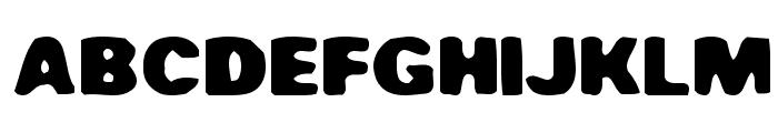 Fuuka Font UPPERCASE