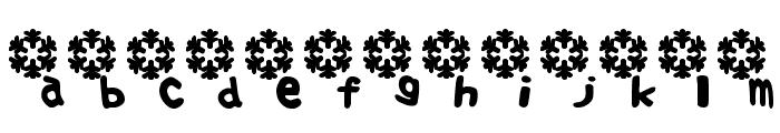 Fuyu Font Font LOWERCASE