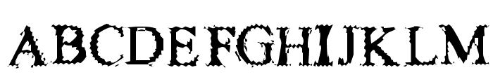 FuzzySock Thin Font UPPERCASE