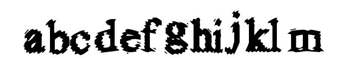 FuzzySock Font LOWERCASE
