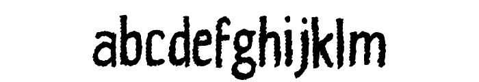 Fuzzymate Font LOWERCASE