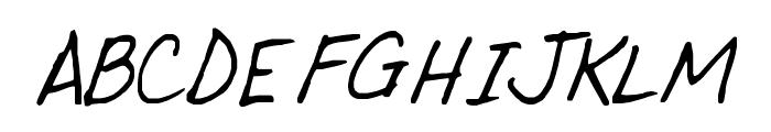 funfont Font UPPERCASE