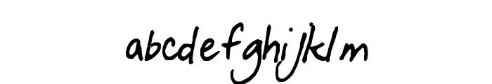 funfont Font LOWERCASE