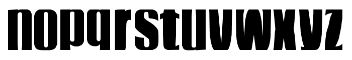 funky dunky swell Font LOWERCASE