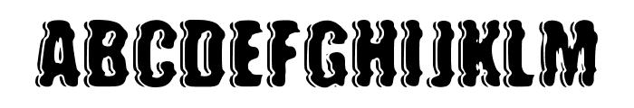 future war Font LOWERCASE