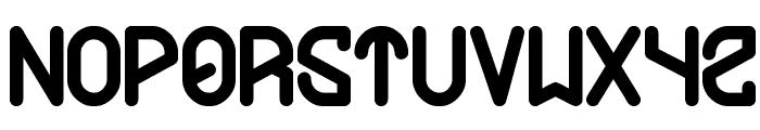 future Font LOWERCASE