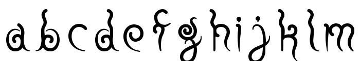 fuu Regular E. Font LOWERCASE