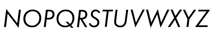 Function-BookItalic Font UPPERCASE