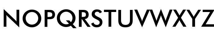 Futura Medium BT Font UPPERCASE