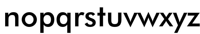 Futura Medium BT Font LOWERCASE