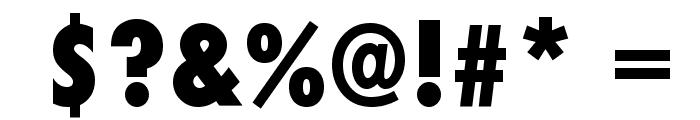 Futura Condensed ExtraBold Font