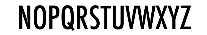 Futura Condensed Medium Font UPPERCASE