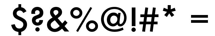 Futura Medium Font OTHER CHARS
