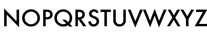 Futura Medium Font UPPERCASE