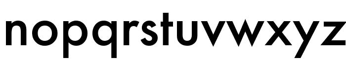 Futura Medium Font LOWERCASE