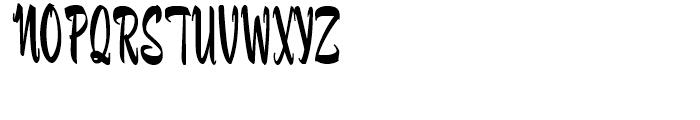 Fuller Brush NF Regular Font UPPERCASE