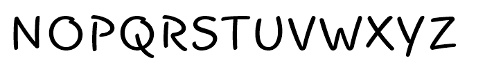 Funtype Regular Font UPPERCASE