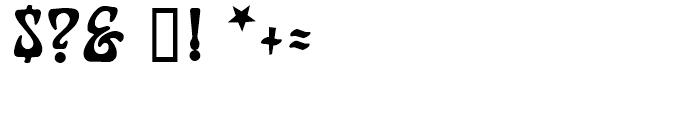 Furbelow Regular Font OTHER CHARS