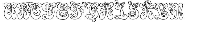 Furbelow Regular Font UPPERCASE