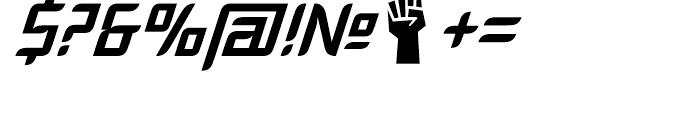 Fury Regular Font OTHER CHARS