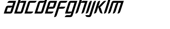 Fury Regular Font LOWERCASE