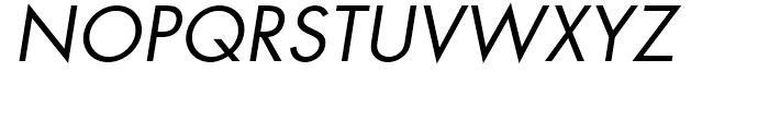 Futura Book Oblique Font - What Font Is