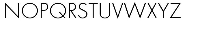 Futura Discaps Light d Font UPPERCASE