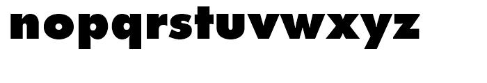 Futura Extra Bold Font LOWERCASE