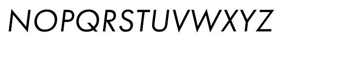 Futura PT Book Oblique Font UPPERCASE