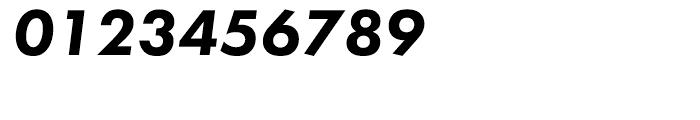 Futura PT Heavy Oblique Font OTHER CHARS