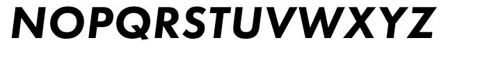 Futura PT Heavy Oblique Font UPPERCASE