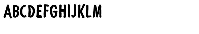 Futuramano Condensed Bold Font UPPERCASE