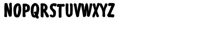 Futuramano Condensed Extra Bold Font UPPERCASE