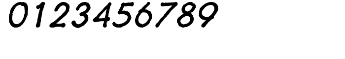 Futuramano Plain Italic Font OTHER CHARS