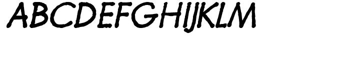 Futuramano Plain Italic Font UPPERCASE