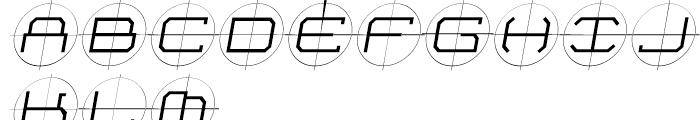 Future Kill Light Skew Font UPPERCASE