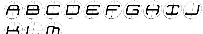 Future Kill Medium Skew Font UPPERCASE