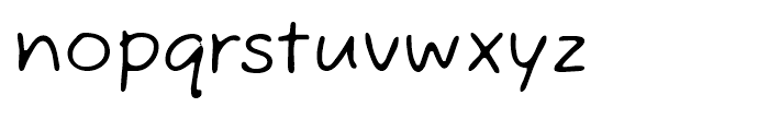 Fuzzy Bubbles ROB Font LOWERCASE