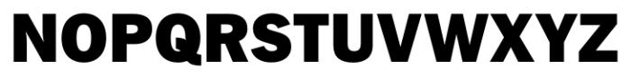 FullerSansDT Black Font UPPERCASE